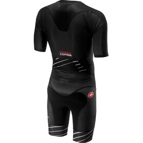 Castelli All Out Speed Suit Herrer, black/black
